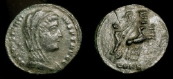 Ancient Coins - Constantine the Great. 307-337 AD. Posthumous issue. Constantinople Mint. RIC VIII 37