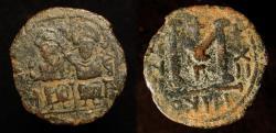 World Coins - Arab Byzantine. Bronze Fals. Gerasa (Jerash). Foss # 86