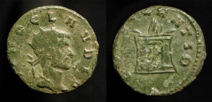 Ancient Coins - Divus Claudius II Gothicus  268-270 AD. AE Antoninianus