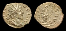 Ancient Coins - AN-JQFW - Contemporary Forgery of TETRICUS I AE Antoninianus, ca.280-90s.