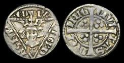 Ancient Coins - IR-FQJD - IRELAND - EDWARD I, 2nd (EDW) Iss. Penny Cl.Ib, ca.1279-84AD.