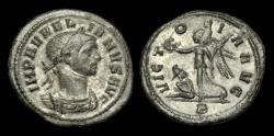 Ancient Coins - PE-BDTK - AURELIAN AR Denarius, ca.270-5AD.