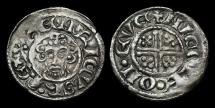 World Coins - SX-JJUF - JOHN - Short-X Penny Cl.5b2, ca.1205-7AD.        YORK