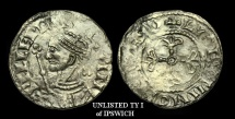 Ancient Coins - NO-WJFU - NORMAN - WILLIAM I, Profile l. Penny, ca.1066-68AD.          Type 1 not listed for Ipswich