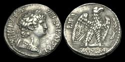 Ancient Coins - IM-JDPK - NERO - Antioch, Seleucis and Pieria, AR Tetradrachm, AD 63/4AD.