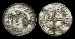 World Coins - CNUT - Short Cross Type Penny, ca.1029-36AD.                                COLCHESTER
