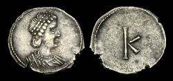 Ancient Coins - LT-KJWD - Anonymous issue, time of CONSTANTINE I, AR 1/3 Siliqua or Scripulum.
