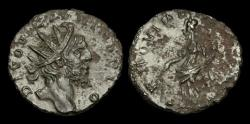 Ancient Coins - AN-KTDB - DIVO VICTORINUS - AE Antoninianus, ca.271AD.          SCARCE
