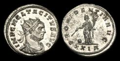 Ancient Coins - AN-PWFD - TACITUS AE Tin Antoninianus, ca.275-6AD.