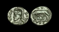 Ancient Coins - LT-BFDP - ROME COMMEMORATIVE. Imitation of Lyons.        WOLF and TWINS