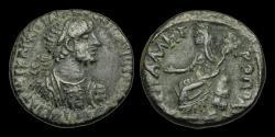 Ancient Coins - IM-KWBJ - HADRIAN - Syria, Decapolis. Petra, AE28, ca.117-35AD.                     PETRA