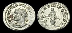 Ancient Coins - AN-UJFT - PHILIP I AR Antoninianus, ca.244-9AD