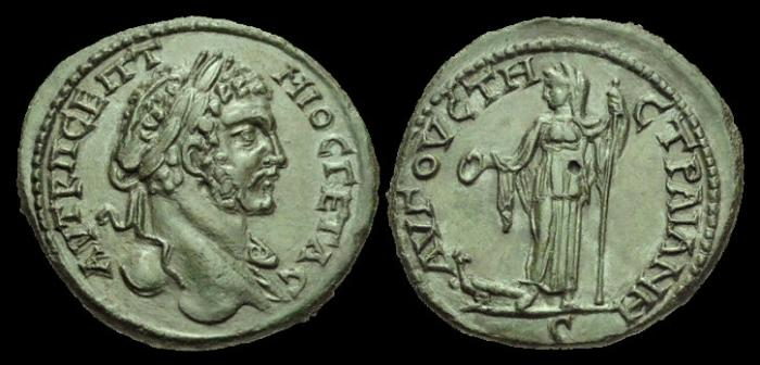 Ancient Coins - IJ-430 - GETA - Thrace, Augusta Traiana, AE30, c207-12AD.....Ex. I Jones collection.....