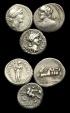 Ancient Coins - RE-WFKD - VARIOUS REPUBLIC AR DENARI x 3