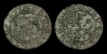 World Coins - TO-TPQK - KENT 39 - Brookland - 1671 Halfpenny, IOHN EVE (K), Grocer.