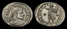 Ancient Coins - LT-PJQF - CONSTANTINE I - AE Follis, ca.316AD.        SOL holding VICTORY !