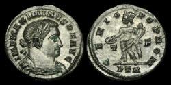 Ancient Coins - LT-TKFP - MAXIMINUS II - AE Tin Follis, ca.310-13AD.