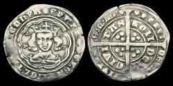 World Coins - ED-QFDF - EDWARD III 4th Iss. Pre-Treaty Groat Cl.E.