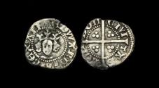 World Coins - ED-BDBD - EDWARD III - 4th Iss. Transitional Farthing, ca.1361AD.               EXTREMELY-RARE