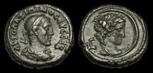 Ancient Coins - IM-TKFU - MAXIMINUS I - Egypt, Alexandria, Billon Tetradrachm, 236/7AD.       BUST of SELENE