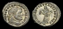 Ancient Coins - LT-WTDF - DIOCLETIAN - AE Tin Follis, ca.299-300AD.    Super Salus!!