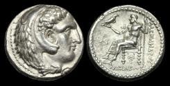 Ancient Coins - GR-KTQB - THE MACEDONIA KINGDOM - ALEXANDER III (the Great) AR Tetradrachm, ca.324-323BC