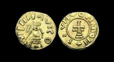 World Coins - SS-FDUD - MEROVINGIAN - VIENNA - Vienne-en-Val (Loiret), Gold Tremissis, ca.625-650AD.        EXTREMELY RARE
