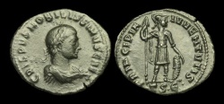 Ancient Coins - LT-PQTW - CRISPUS AE Follis, ca.317-8AD.                       PRINCIPIA IVVENTVTIS