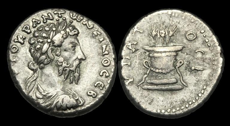 Ancient Coins - IM-KJTD - MARCUS AURELIUS - Cappadocia, Caesarea AR Tridrachm, ca.175-6AD