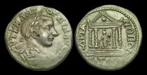 Ancient Coins - IJ-149 - GORDIAN III - Thrace, Hadrianopolis, AE27, ca.238-44AD.      TEMPLE