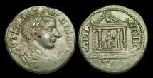 IJ-149 - GORDIAN III - Thrace, Hadrianopolis, AE27, ca.238-44AD.      TEMPLE