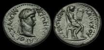 Ancient Coins - IM-TDUF - NERO - THESSALY, Koinon, AE Triassarion, ca.66/8AD.