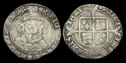 World Coins - TU-FWUK - HENRY VIII - 3rd Iss. Groat, 1547-51.                                  BRISTOL