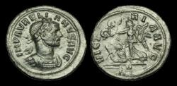 Ancient Coins - PE-KUFD - AURELIAN - AR Denarius. VICTORIA AVG