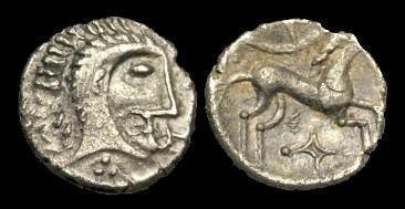 Ancient Coins - CE-JBDQ - ICENI - BOUDICCA - Silver Unit, c61AD.