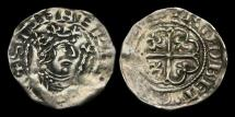 Ancient Coins - NO-KFTP - STEPHEN - Cross Moline ('Watford') Ty. Penny, ca.1136-45AD.       Shrewsbury and RARE+