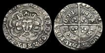 Ancient Coins - LN-WTUF - EDWARD IV, 1st Reign Light Groat Ty.VIII, ca.1467-8AD.