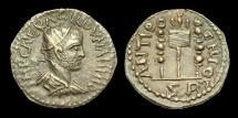 Ancient Coins - IJ-229 - VOLUSIAN - Pisidia, Antiochia AE20, c251-3, c21mm, c4.7g.