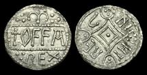 Ancient Coins - SA-TFWK - ANGLO-SAXON - OFFA - King of Mercia, East-Anglian Heavy Penny, ca.785-800AD.   RARE