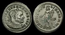 Ancient Coins - LT-QBDT - SEVERUS II CAESAR - AE Follis, ca.305-7AD.             SCARCE