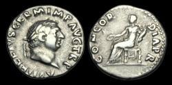 Ancient Coins - TI-BFJD - VITELLIUS - AR Denarius