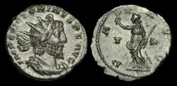 Ancient Coins - AN-QTWJ - VICTORINUS AE Antoninianus, ca.270AD.                       PAX AVG