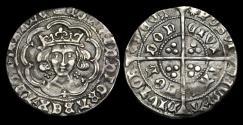 Ancient Coins - LN-WTUF - EDWARD IV, 1st Reign Light Groat Ty.VIII, ca.1467-8AD.