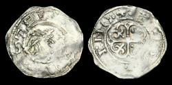 Ancient Coins - NO-WJFJ - STEPHEN - 'Watford' Penny, ca.1136-45AD.