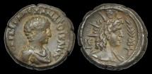 Ancient Coins - IM-DWBP - SEVERUS ALEXANDER - EGYPT, Alexandria, Billon Tetradrachm, ca.221-2AD.     HELIOS
