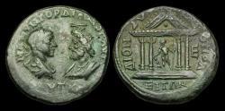 Ancient Coins - IM-UTUD - GORDIAN III + SERAPIS - MOESIA INFERIOR, Dionysopolis, AE Pentassarion.