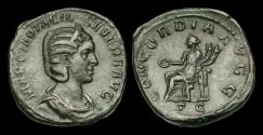 Ancient Coins - OR-JTBD - OTACILIA SEVERA AE Sestertius, wife of Philip I, ca.246AD