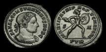 Ancient Coins - LT-PQDW - CONSTANTINE I CAESAR AE Follis, ca.307AD