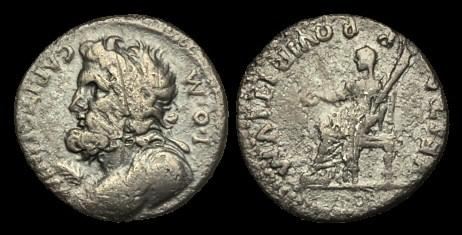 Ancient Coins - TI-BQBT - CIVIL WAR, Vitellian Forces in Southern Gaul AR Denarius, March 69, c17mm, c2.6g.