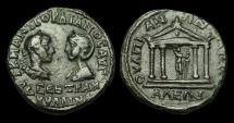 Ancient Coins - IM-PTJT - GORDIAN III + TRANQUILLINA - Thrace, Anchialus AE26, ca.241-244AD